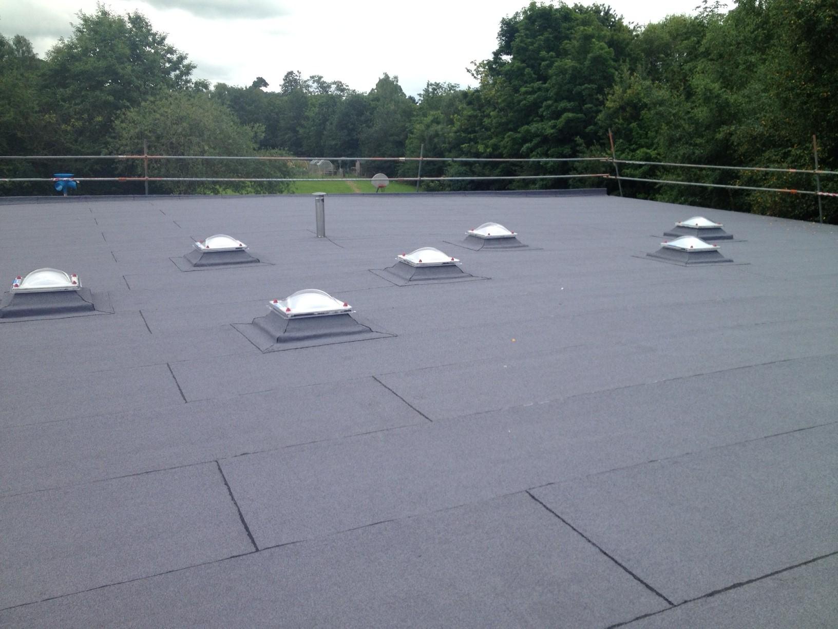 M&J Flat Roofing Felt Roof